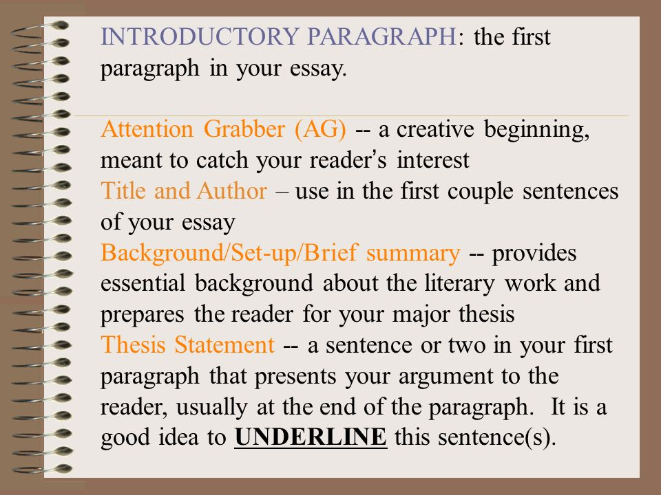 Essay Opening Paragraphs How To Captivate Your Readers  Ways To Craft Irresistible Opening Lines Science Essays also How To Write A Thesis Sentence For An Essay  Thesis Example Essay