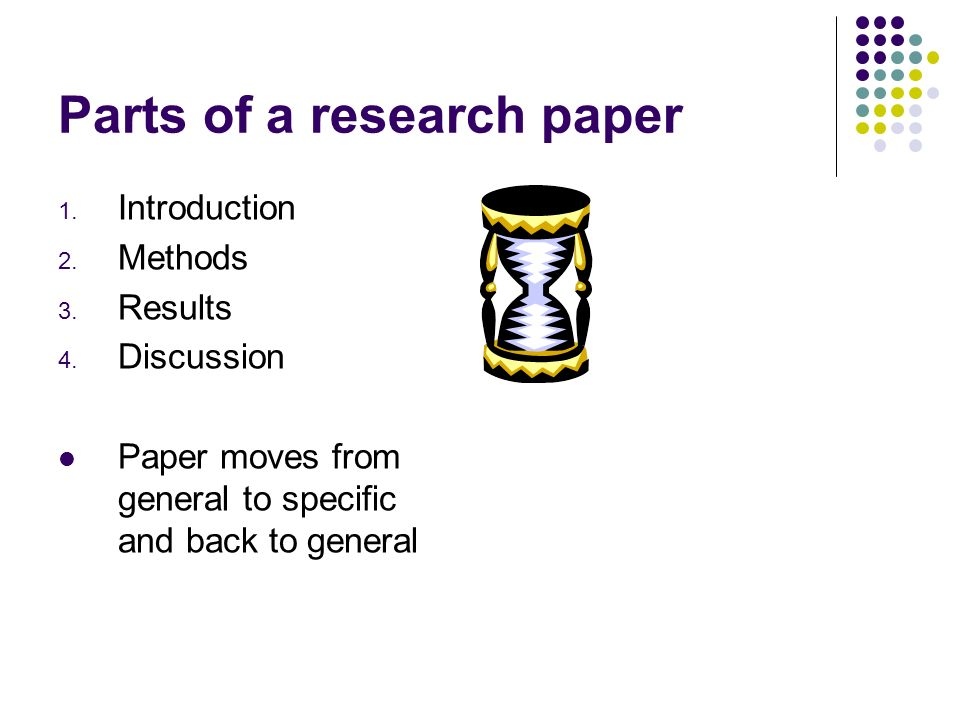 introduction parts research paper How to write a conclusion for a research how to write a conclusion for a research paper four parts: in the introduction a research paper.