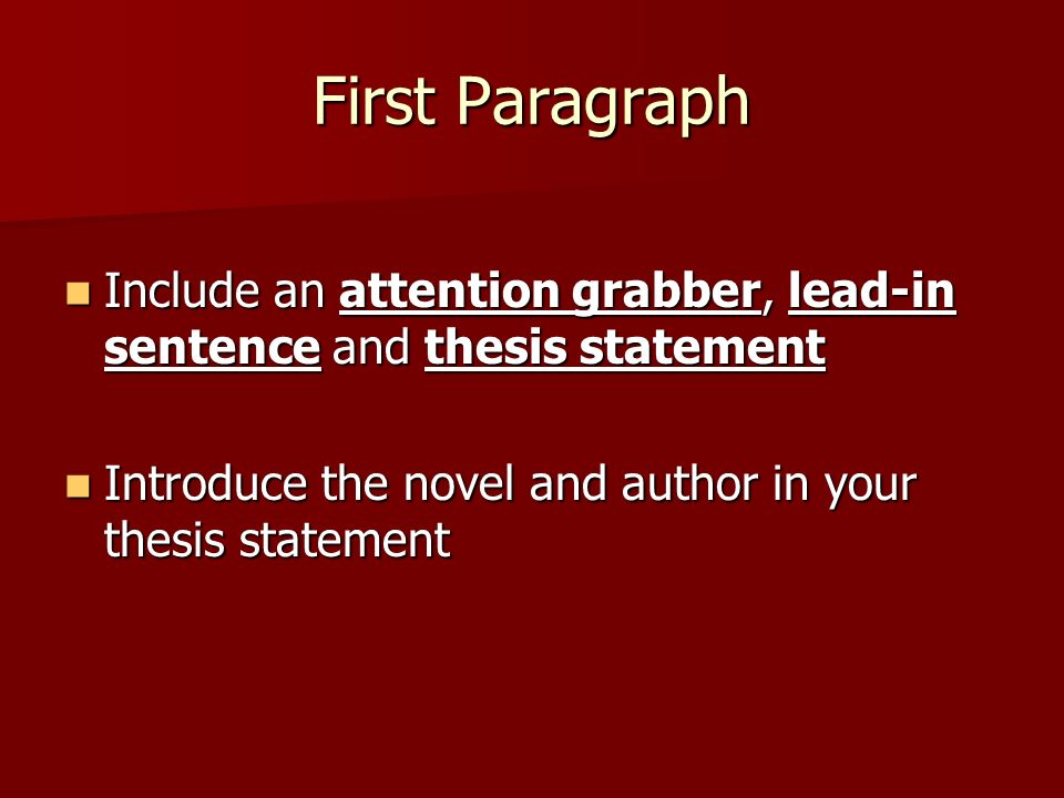 lead character analysis Dynamic characters fuel fiction a character analysis paper analyzes a character's personality and behavior to draw conclusions about her motivations the thesis.