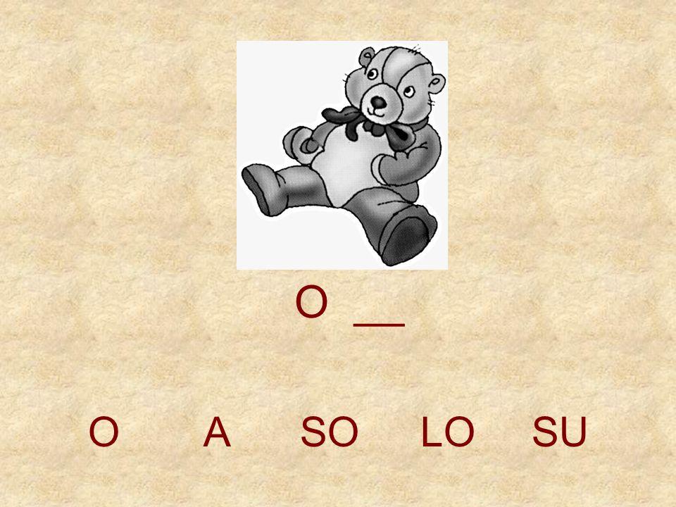O __ O A SO LO SU