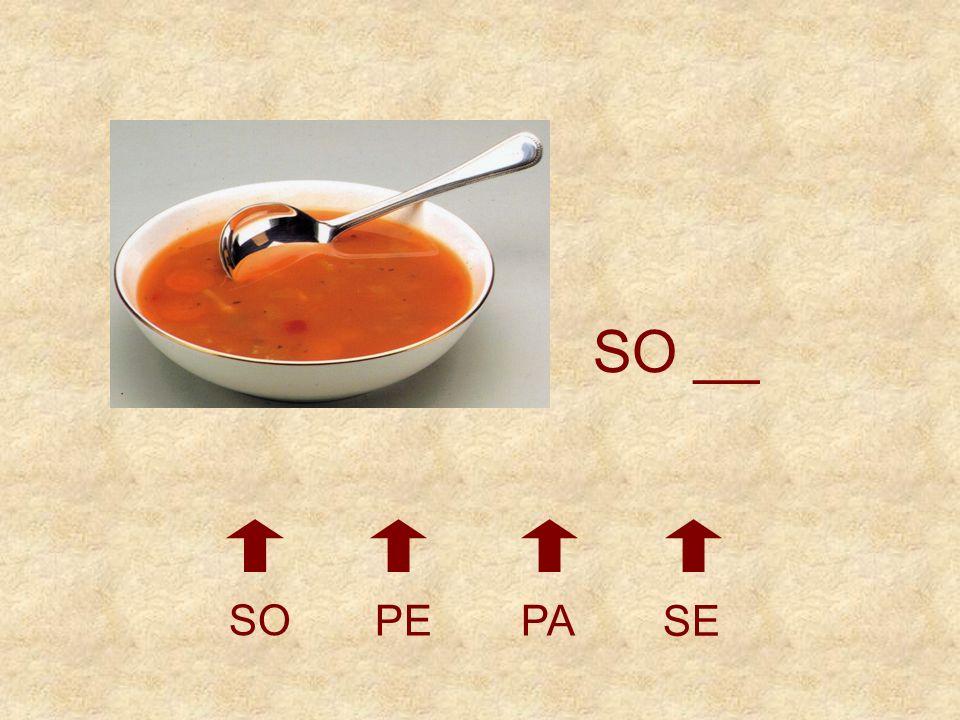 SO __ SO PE PA SE