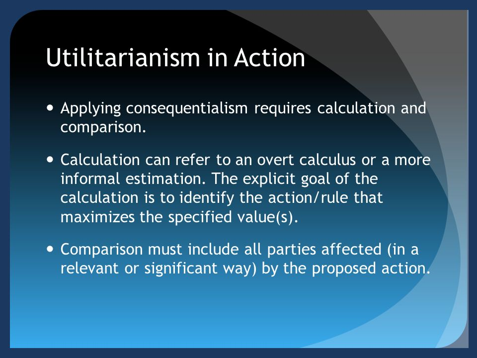 Normative Ethics: Utilitarianism and Deontology Essay - Part 2