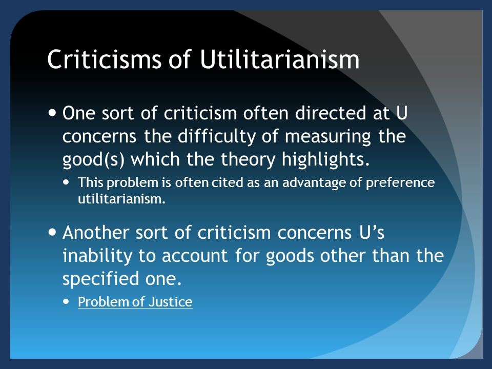 normative ethics utilitarianism deontology Running head: normative ethics: utilitarianism and deontology normative ethics: utilitarianism deontology ethics are a personal set of values used by an individual to guide their 1,353 words | 6 pages.