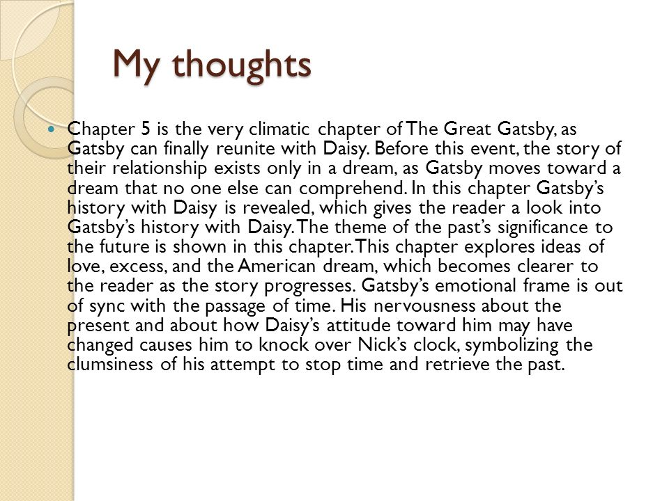 an analysis of the american dream symbolism in the great gatsby by f scott fitzgerald This essay color symbolism in great gatsby and other  the great gatsby by f scott fitzgerald is full of  the american dream, and all its splendor (great.