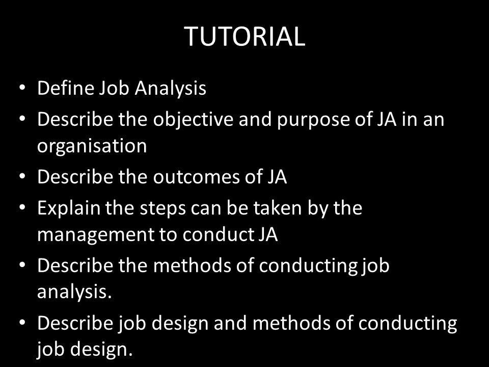 an introduction to the job analysis Pdf 무료 다운로드 an introduction to real analysis - agarwal, ravi p flaut, cristina o'regan, donal this book provides a compact, but thorough, introduction to the subject of real analysis it is.