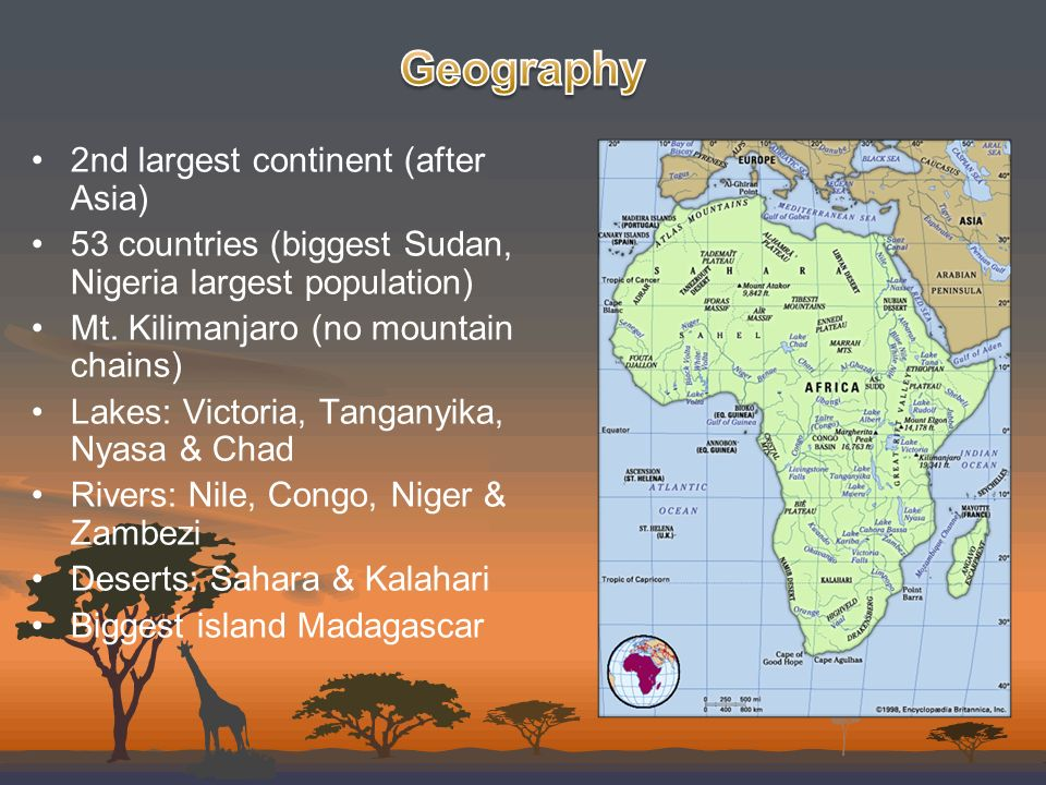 The Forgotten Continent Ppt Video Online Download - What continent is sudan in