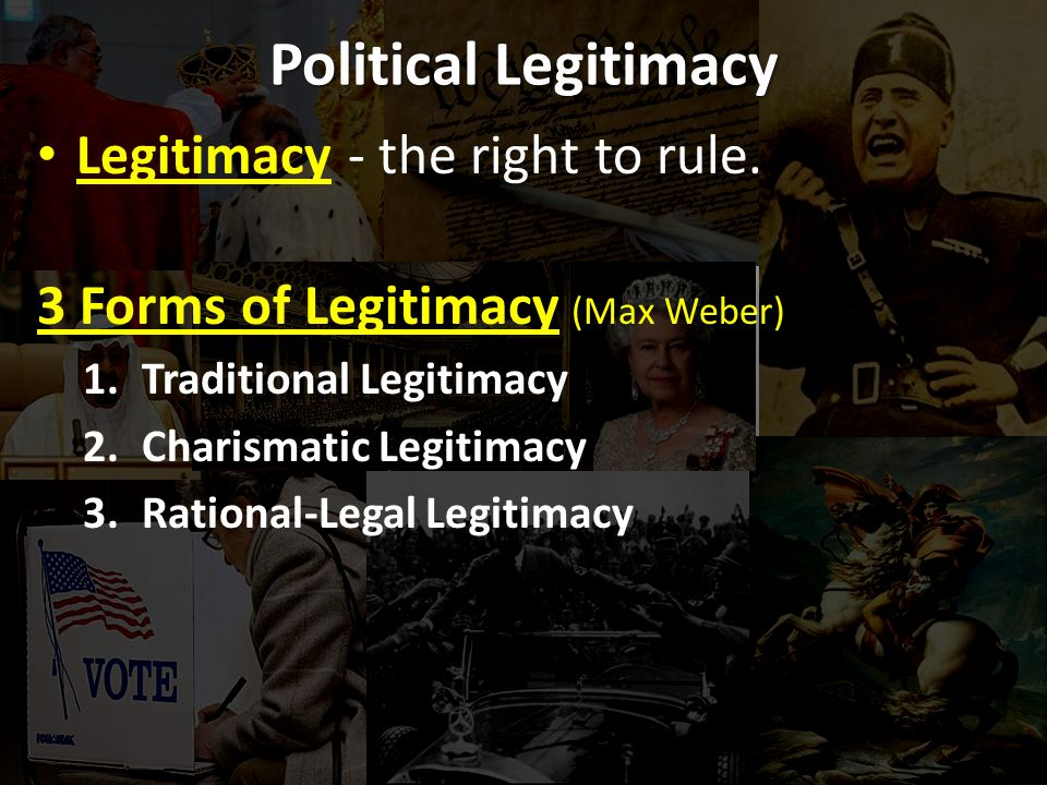 charismatic legitimacy Wwwgiga-hamburgde/workingpapers giga research programme: legitimacy and efficiency of political systems _____ transitions from charismatic rule.