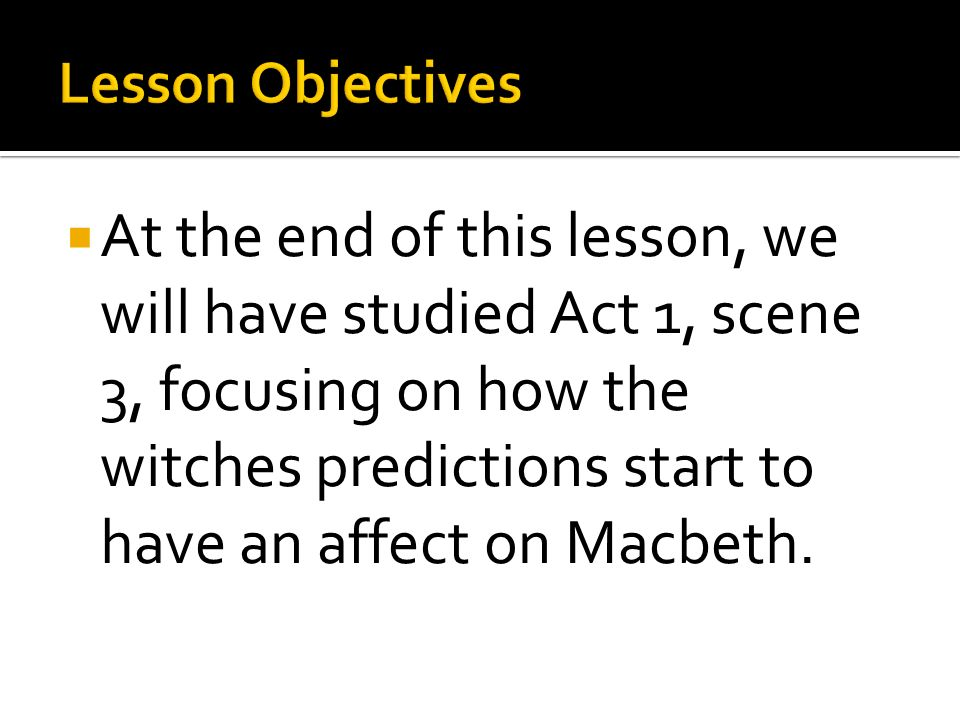 "the influence the witches prophecies on macbeths actions and behavior He is under the influence of the witches  the same prophecies macbeth  too terrible for the ear"" shows macbeth knows his actions are completely."