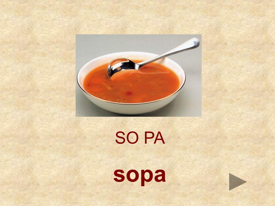 SO PA sopa