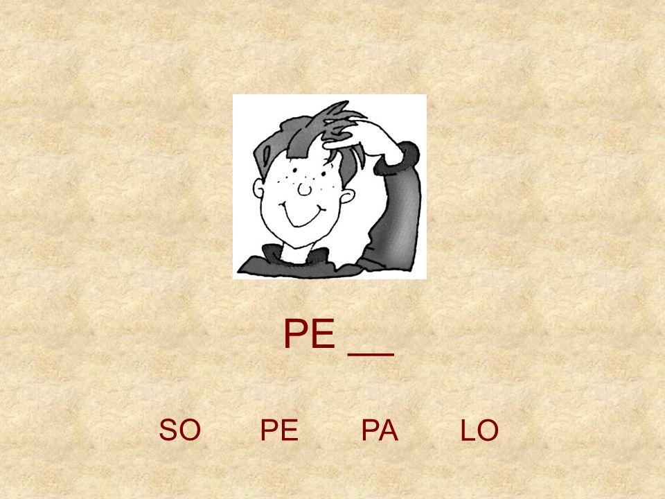 PE __ SO PE PA LO