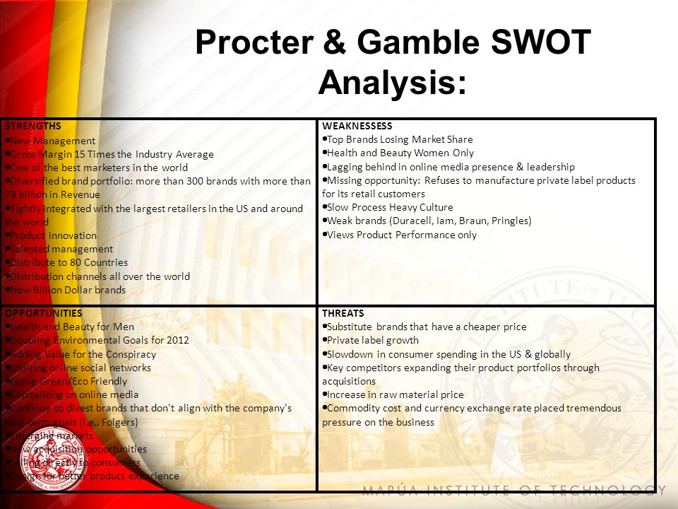 Procter and gamble strategic analysis casino aachen junggesellenabschied