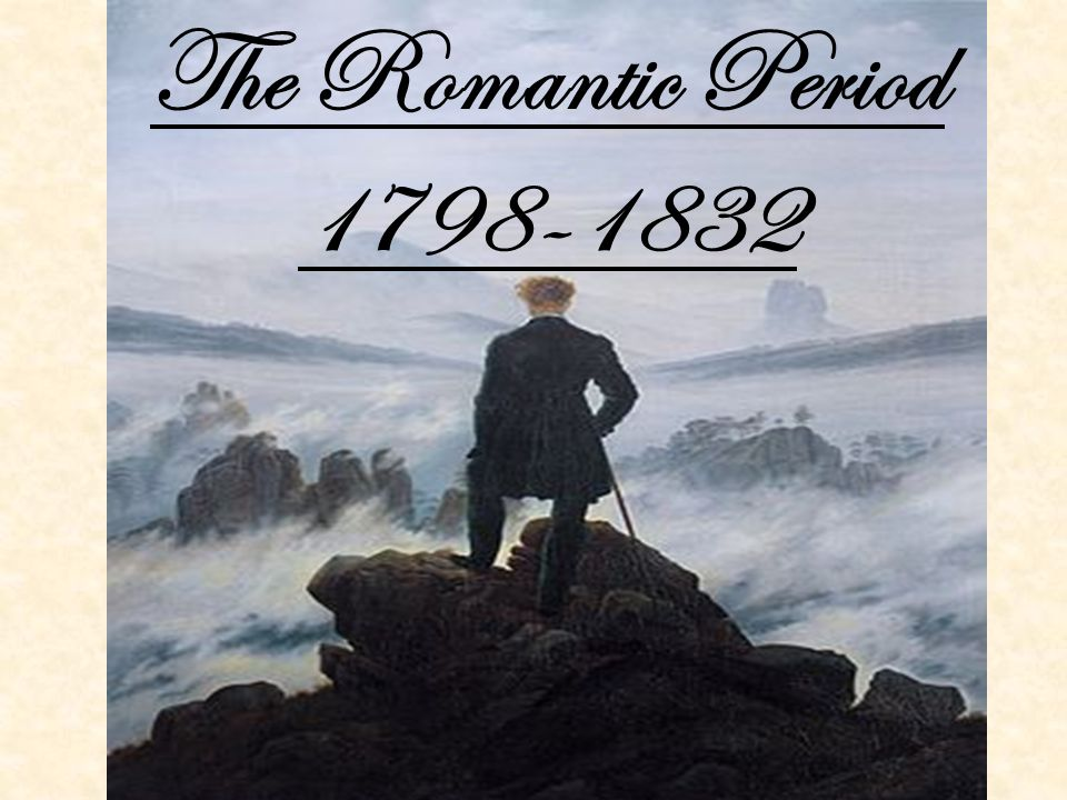 the romantic era William blake (1757-1827) the sick rose a poison tree the tyger william  wordsworth (1770-1850) the seven sisters or, the solitude of binnorie the  faëry.