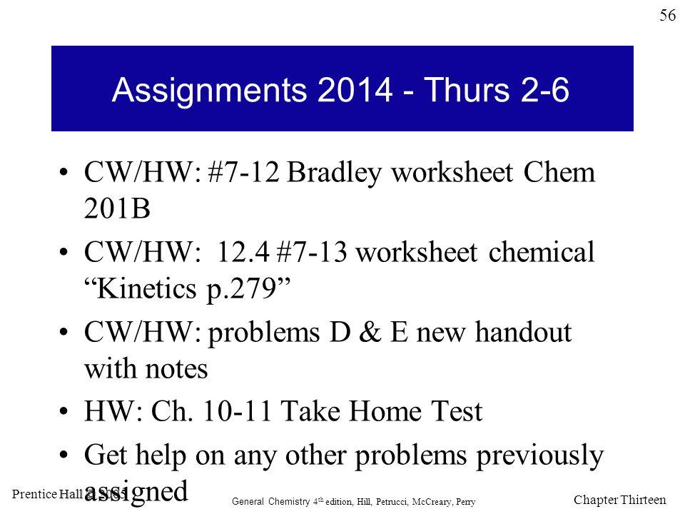 Chapter 12 Chemical Kinetics ppt download – Chemical Kinetics Worksheet