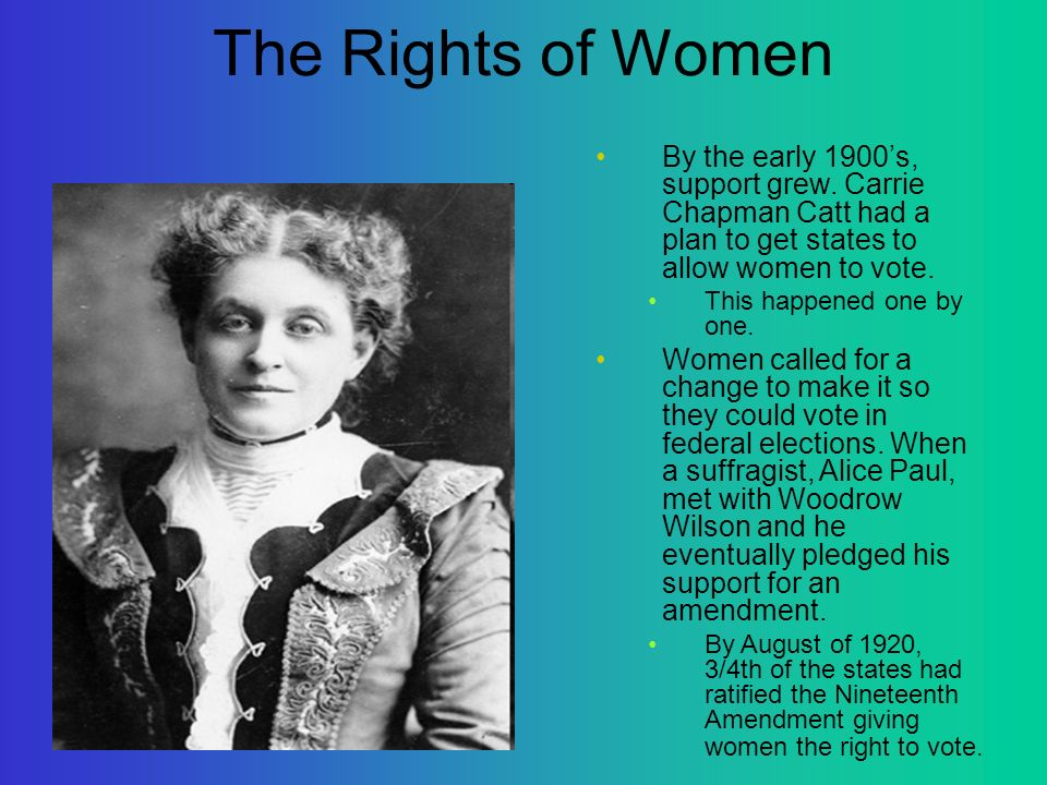 Womens rights 1848 1920