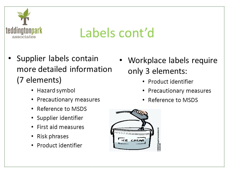 a workplace label requires only the Whmis label requirements are most notably affected by the update with some   and employers will be required, as per completion of whmis 2015's, 3-phase  transition  whmis 2015- same as 1988, but only the latter part.