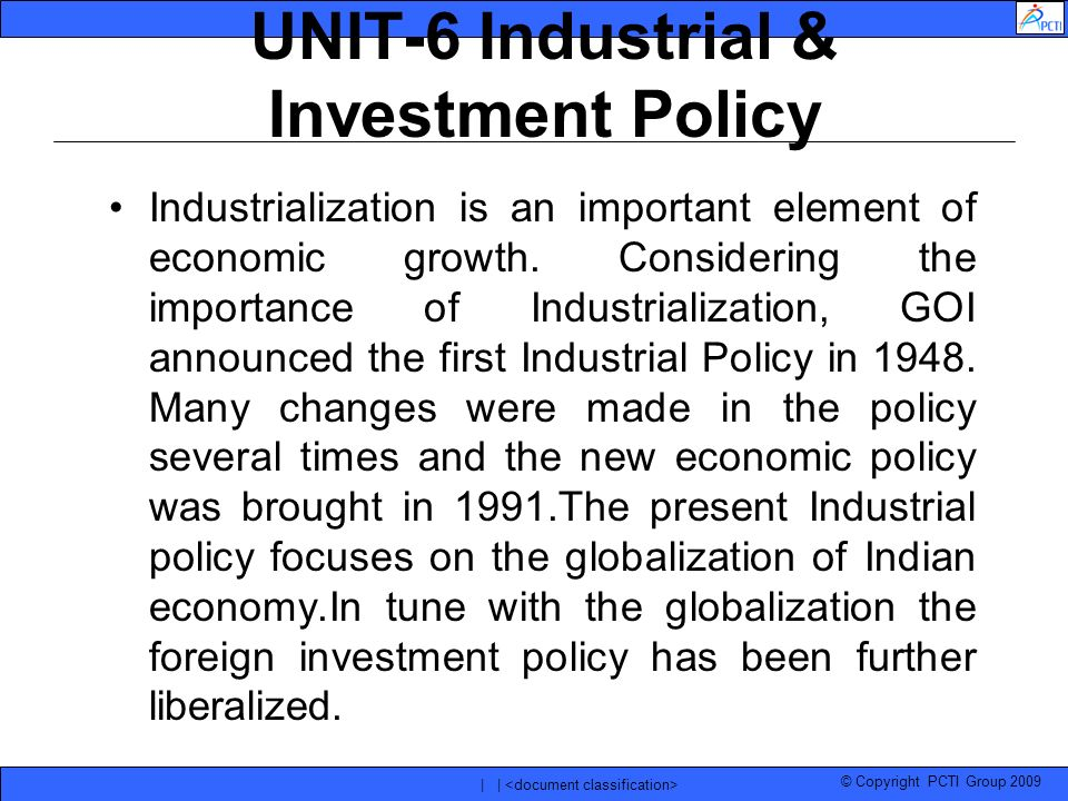 indian industrial policy Whether one likes it or not , in this new era of protectionism and domestic value  capture, india needs a smart industrial policy to grow its.