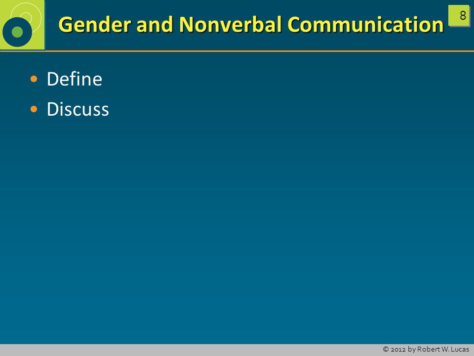 Aspects of Nonverbal Communication