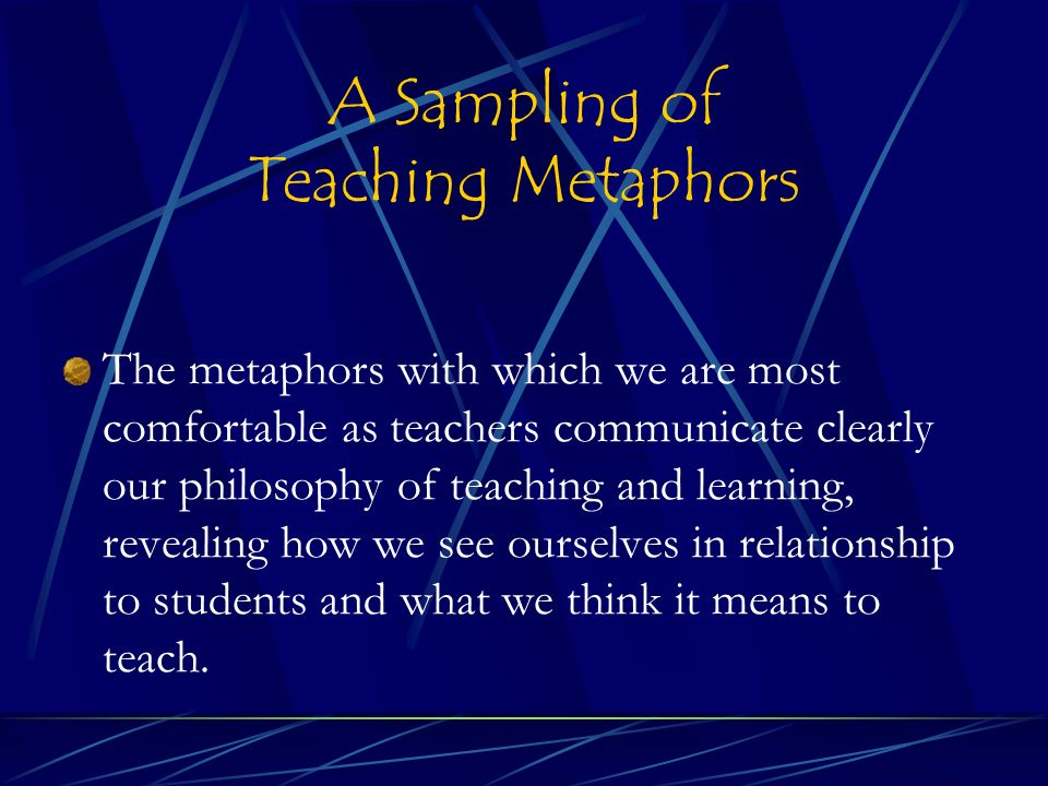 Back to School Prep Guide: 8 Metaphors for a Teacher