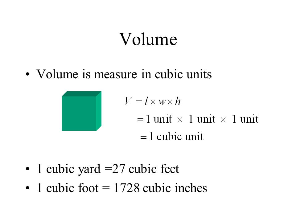 9 2 Measuring Area And Volume Ppt Video Online Download