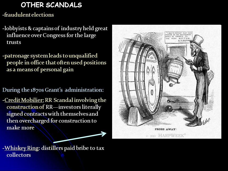 OTHER SCANDALS -fraudulent elections