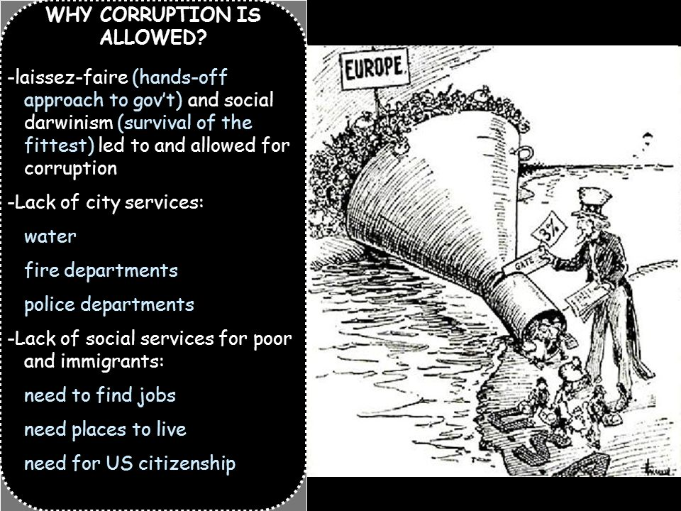 WHY CORRUPTION IS ALLOWED