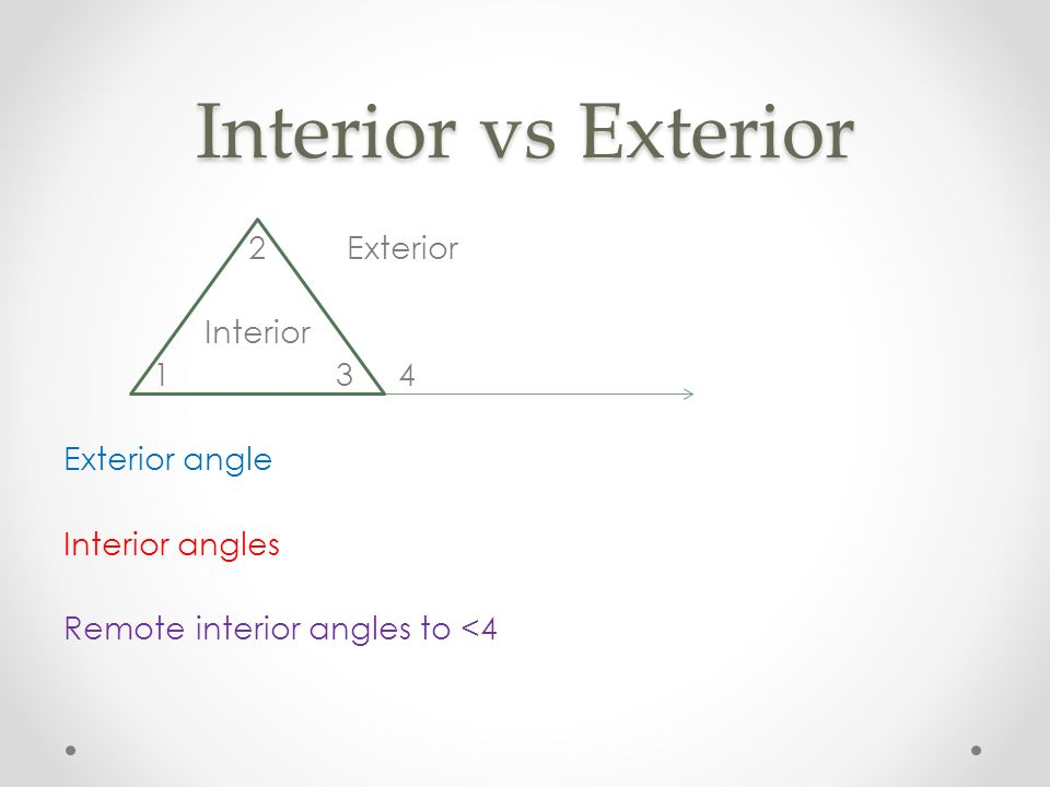 Angle Relationships in Triangles ppt download