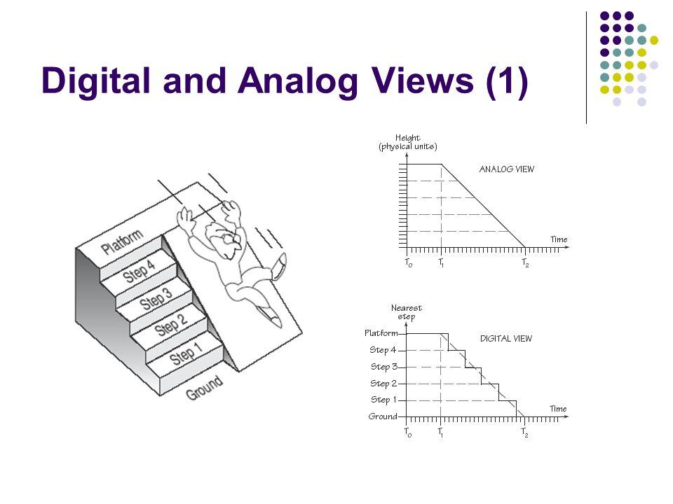 analog versus digital kuliah sistem digital  teknik