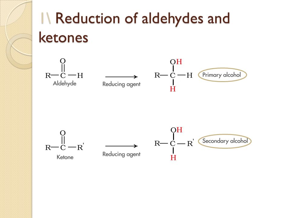 chemical test to distinguish between aldehydes and ketones For higher chemistry, discover how our bodies use protein from our diet and learn about aldehydes and ketones  which of the following could be used to tell the difference between an aldehyde .