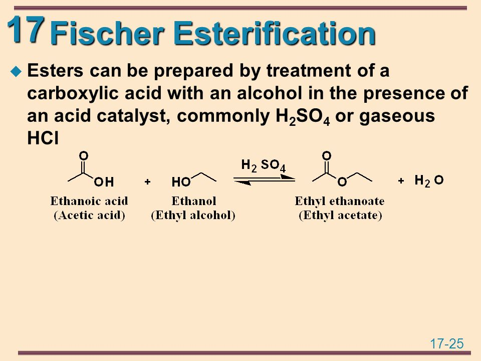 organic chem esterification Experiment 9 (organic chemistry ii) pahlavan - cherif synthesis of aspirin - esterification materials hot plate 125-ml erlenmeyer flask melting point capillaries melting point apparatus.