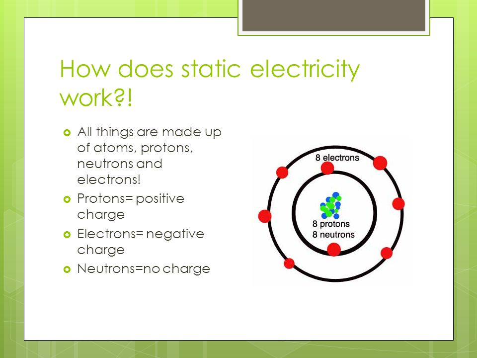 Static Electricity With The Inspector Ppt Download