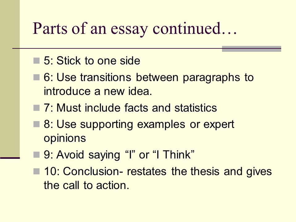 parts of a argumentative essay Reader approved how to write an argumentative research paper five parts: sample outlines getting started research your topic drafting your essay revising your essay community q&a.