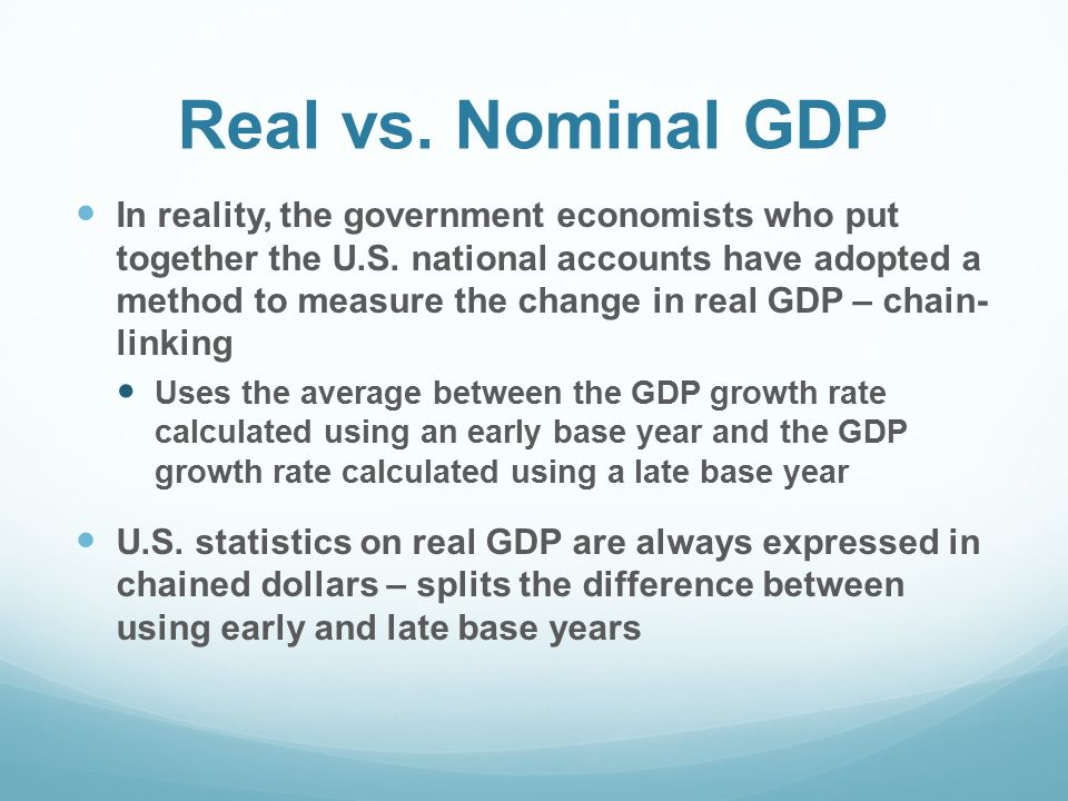 why do economists prefer real gdp as a measure of economic well being Why do economists use real gdp rather than nominal gdp to gauge economic well-being which is a better measure of economic well-being real gdp or nominal gdp.