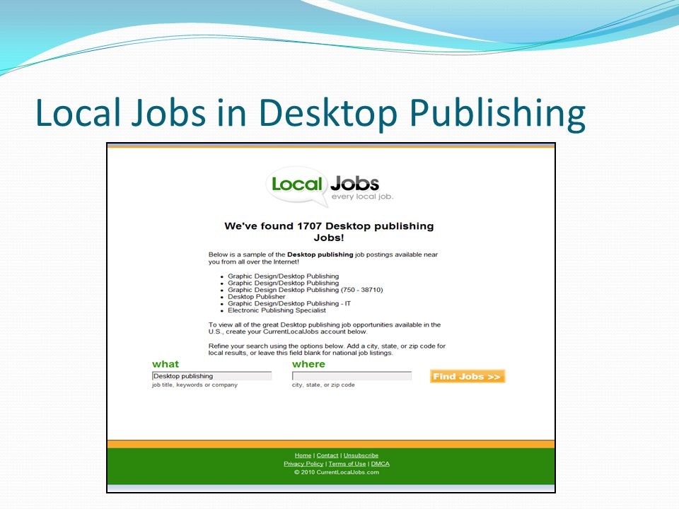 Desktop publishing bim ppt download for Desktop publisher job