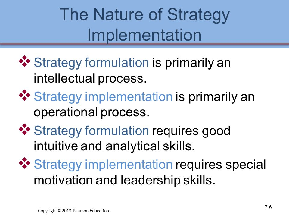 what are the reasons for formulating and implementing an operations strategy Reasons for formulating and implementing the strategies: the reasons for creating and executing a strategy for operations and supply chain are many • operation strategies.