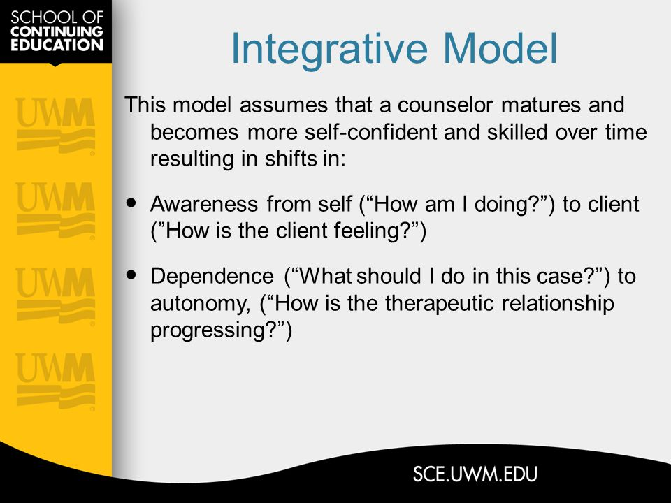clinical supervision model assignment 3 Many therapists practise in contexts other than the traditional medical model  continuous clinical judgment,  assignment and supervision in occupational.