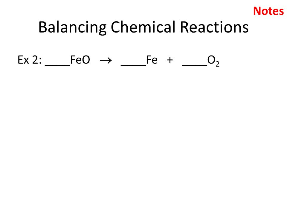Balancing Chemical Equations ppt download – Balancing Chemical Equations Worksheet 2 Answer Key