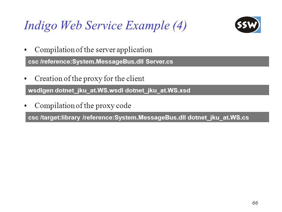 Indigo Web Service Example (4)