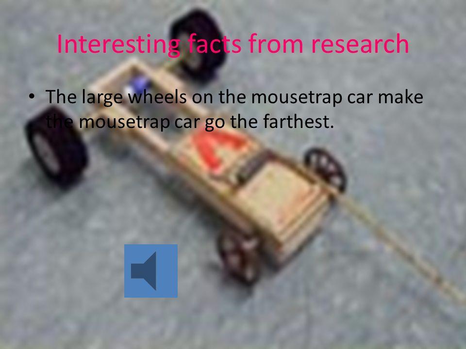 College Essays College Application Essays Mousetrap Car Research