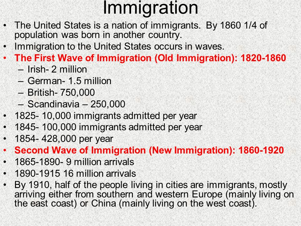 history of immigration to the united President donald trump's executive orders last week limiting immigration to us was us has long history of from entering the united states.