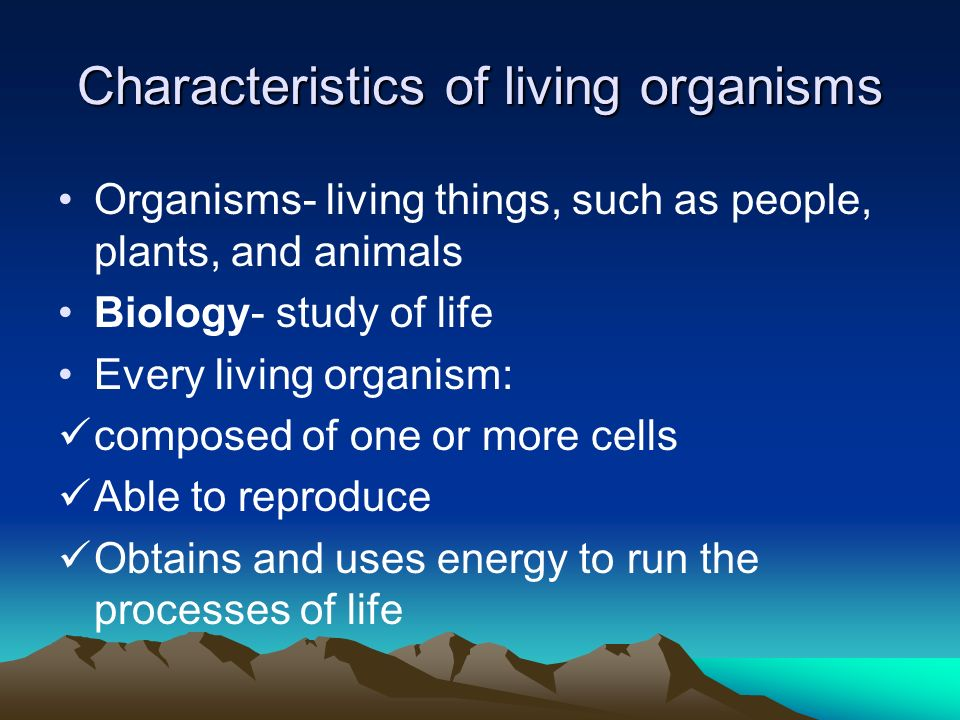characteristics of organisms The six kingdoms when linnaeus developed his system of classification, there were only two kingdoms, plants and animals but the use of the microscope led to the discovery of new organisms and the identification of differences in cells.