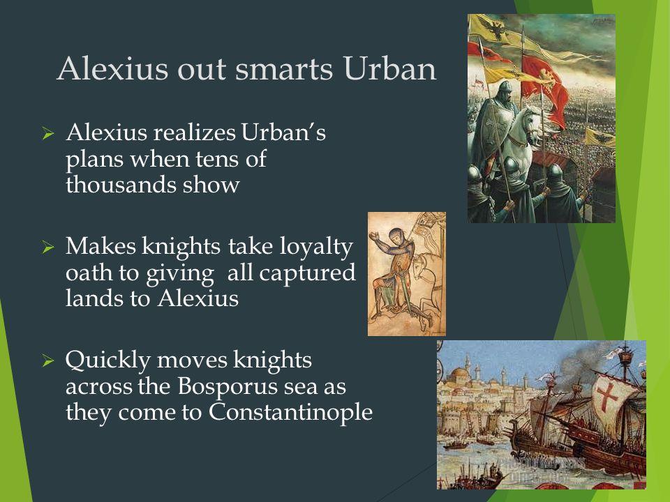Alexius out smarts Urban