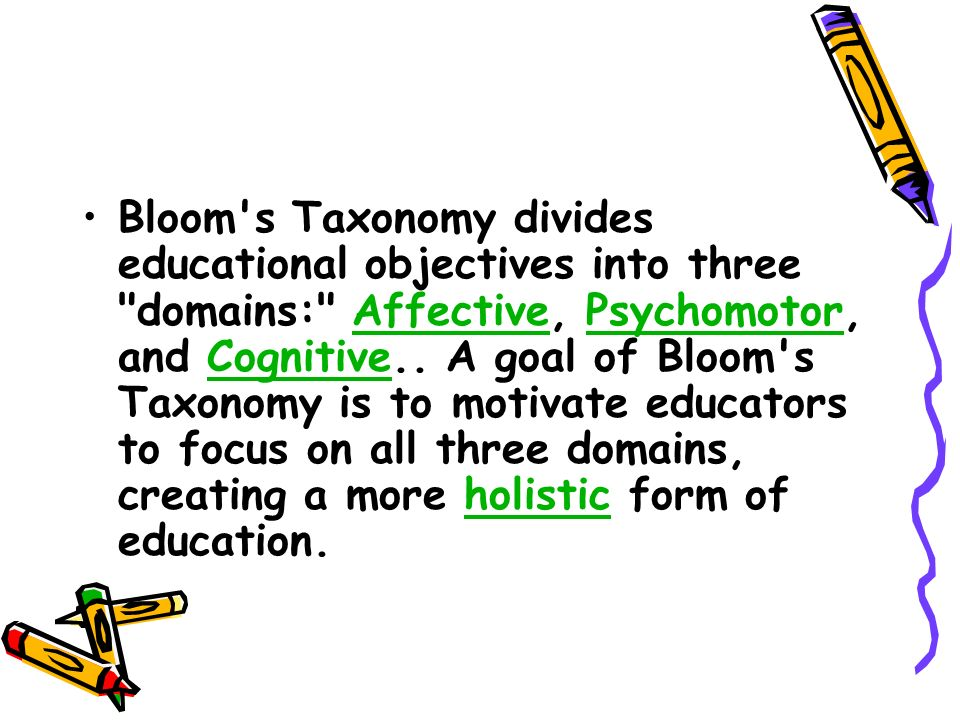 taxonomy of educational objectives cognitive domain pdf