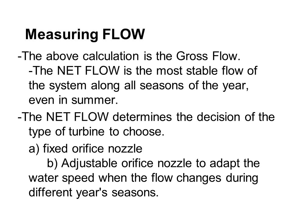 Measuring FLOW