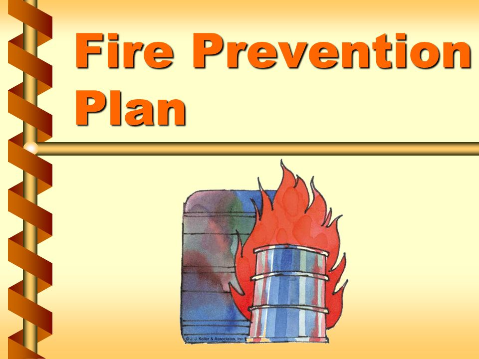 fire prevention business plan