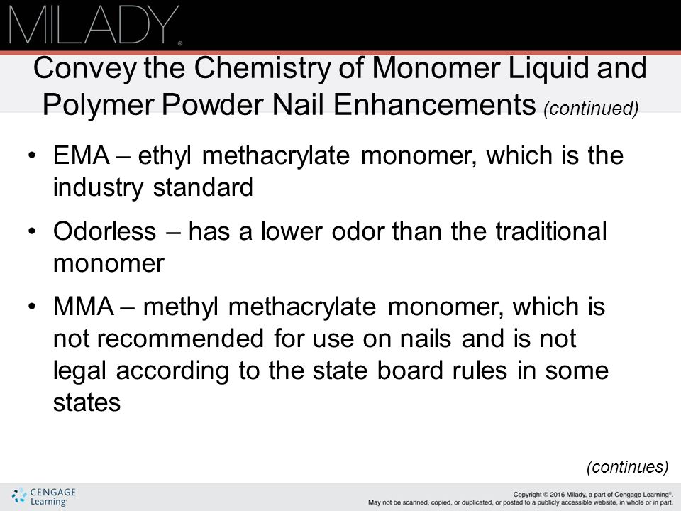 Monomer Liquid & Polymer Powder Nail Enhancements - ppt video online ...