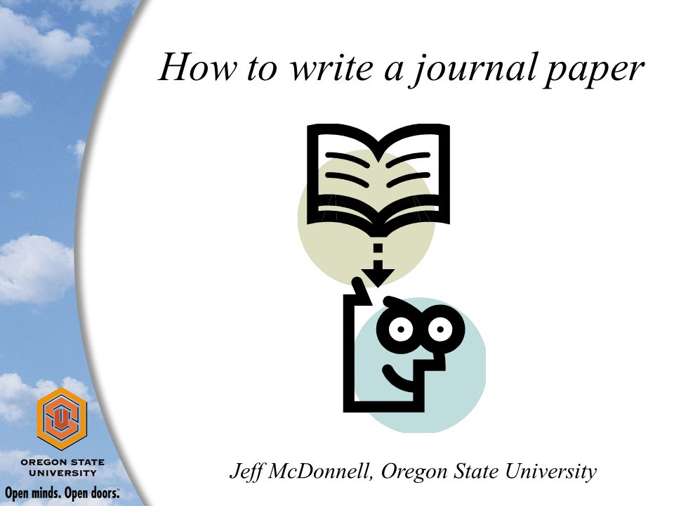 "how to write a paper for publication An article for publication in the american archivist ""guidelines for writing scholarly papers,"" available at http how to write a scholarly article."