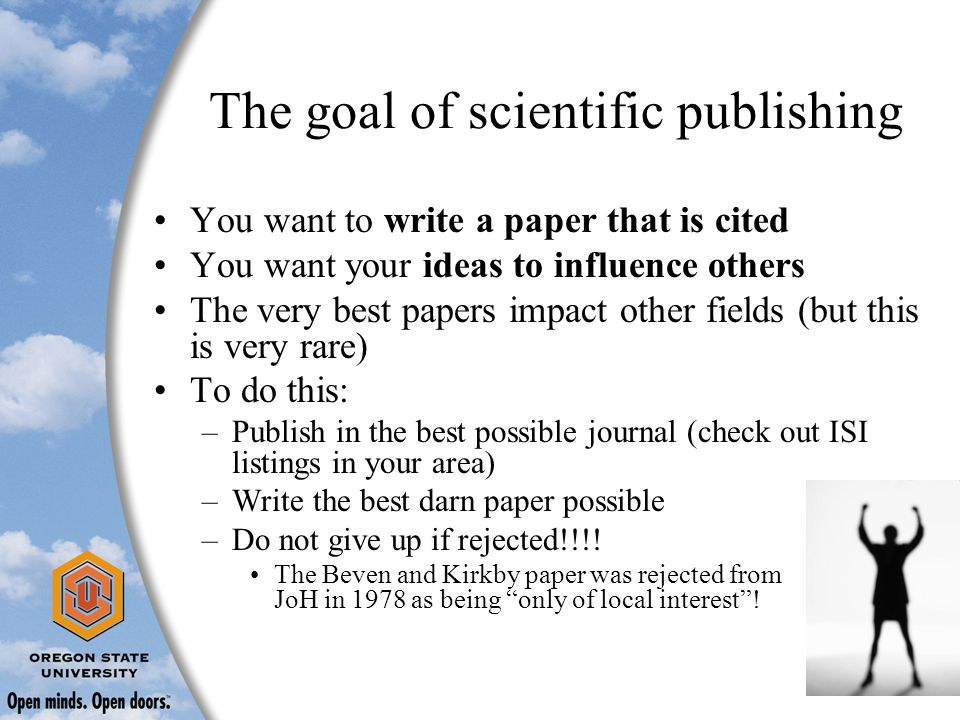 publish my research paper online This article will help you to write and publish your research paper for research scholars doing phd it is mandatory to publish their research papers at international level academic journals or scholarly (peer reviewed) journals.