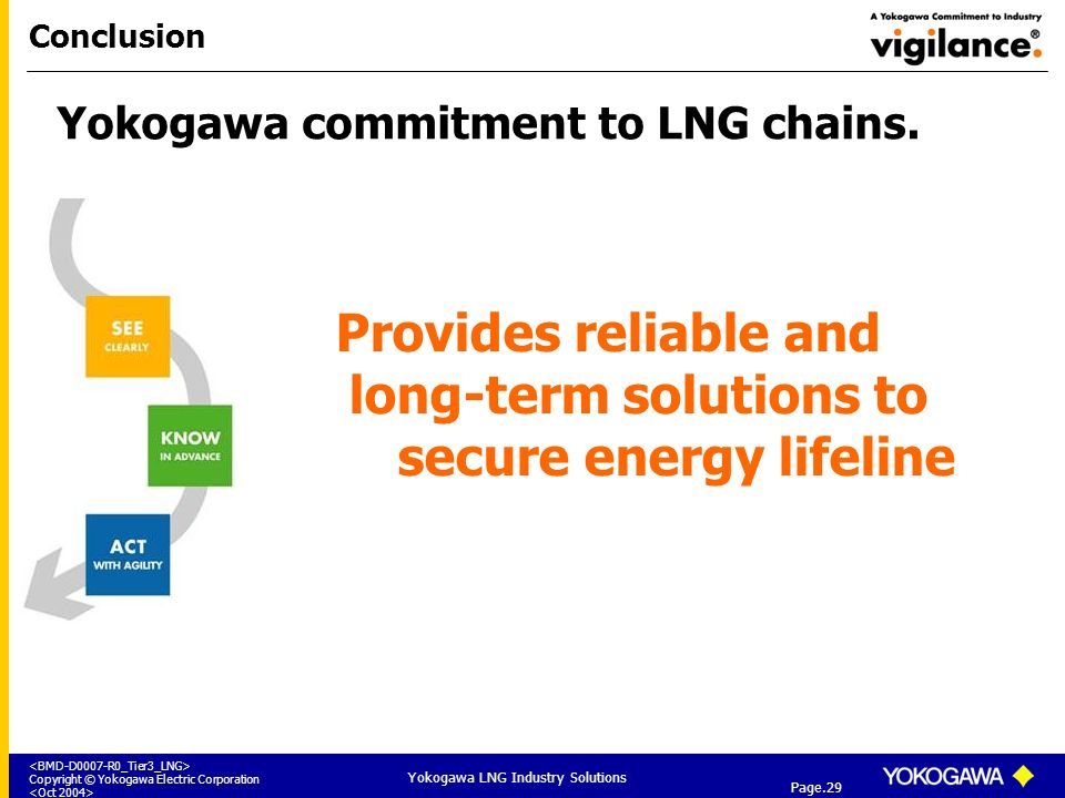 Provides reliable and long-term solutions to secure energy lifeline
