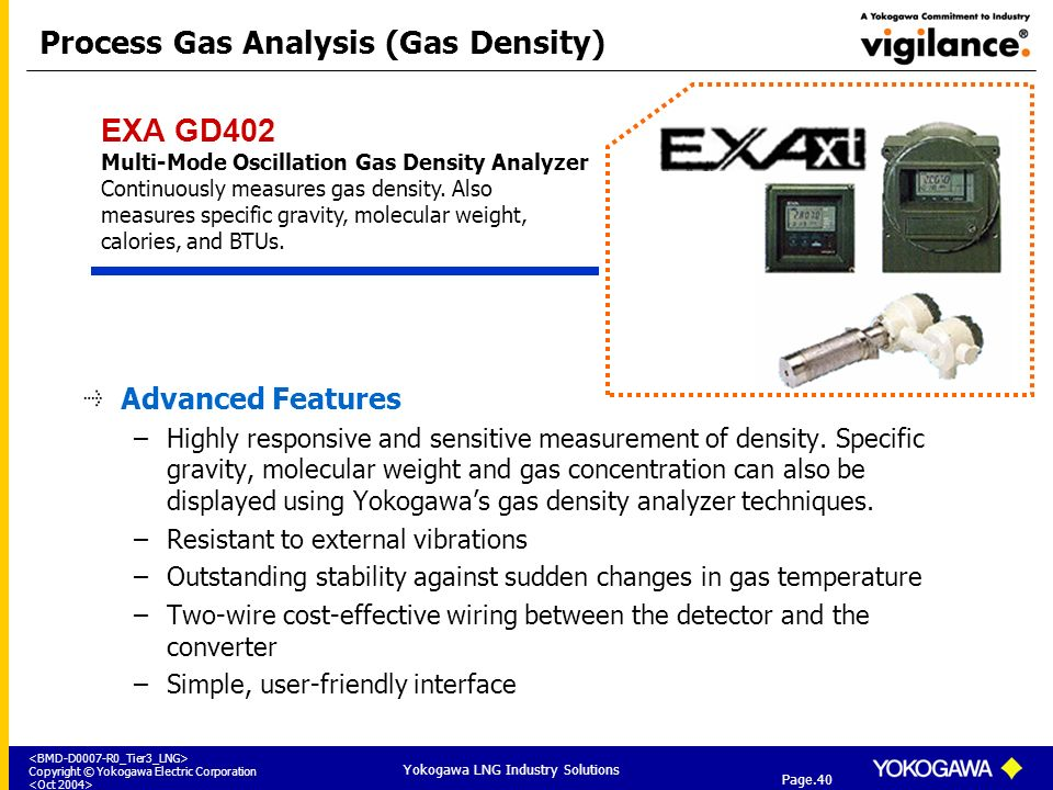 Process Gas Analysis (Gas Density)