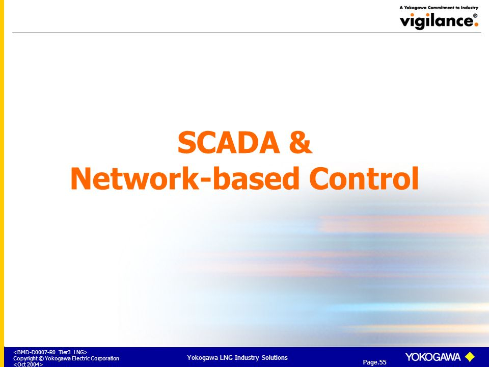 SCADA & Network-based Control